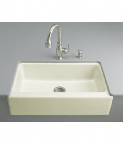 Kohler Apron Front Sink : Apron-front sink: KOHLER Kitchen Pinterest