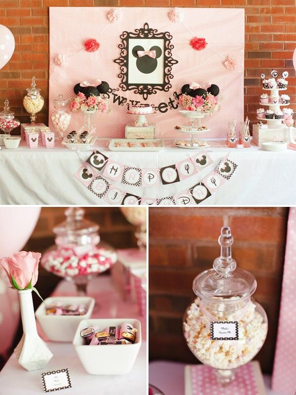 minnie mouse baby girl shower ideas baby shower ideas pinterest