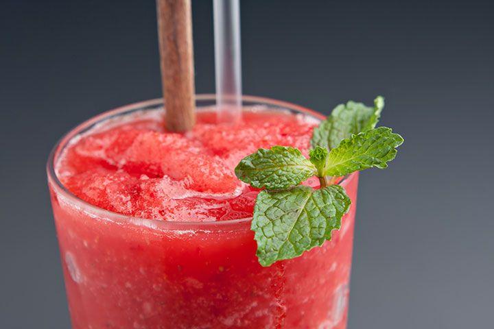 Watermelon & Basil Margaritas...sounds refreshingly yummy!