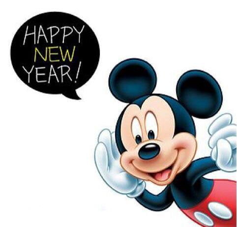 Mickey Happy New Year!   MICKEY & MINNIE MOUSE   Pinterest