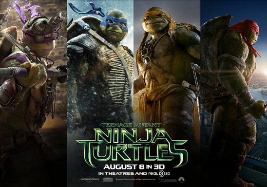 Exclusive Preview Of The New Teenage Mutant Ninja Turtles Movie Trailer! #TMNTMOVIE — The Queen of Swag!