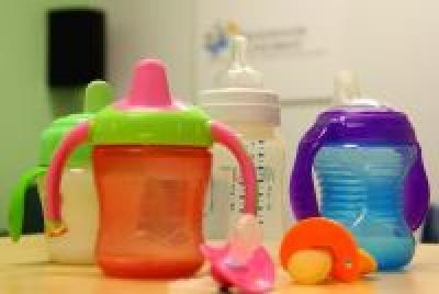 Keeping Baby Safe: A new study examined pediatric injuries associated with baby bottles, pacifiers and sippy cups. Researchers found that an average of 2,270 patients/year were treated in Emergency rooms for these injuries. Injuries occured more freq..