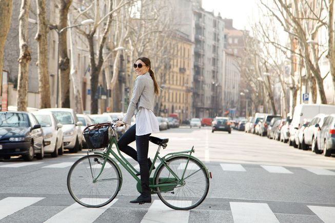 From the bike to the outfit, <3