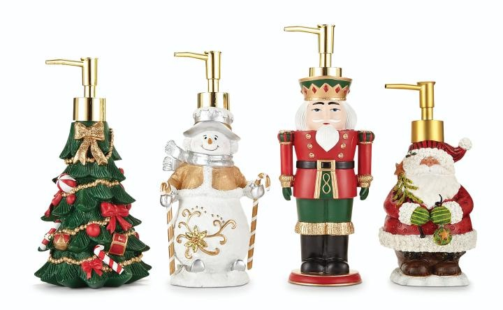 Christmas soap pumps home for the holidays pinterest