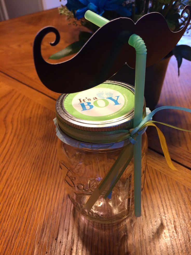 baby shower mason jar favors for my baby pinterest