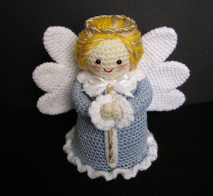 Free Crochet Pattern For Tiny Angels : LITTLE ANGEL PDF Crochet Pattern