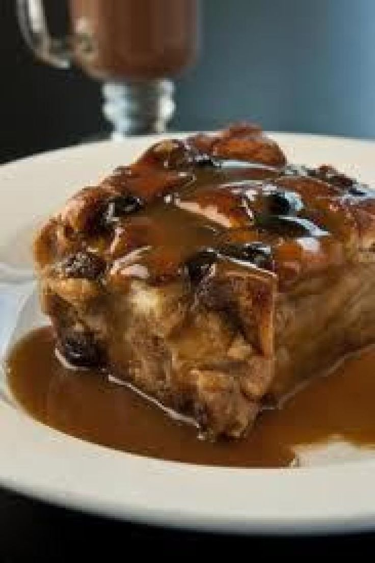 Bread Pudding With Bourbon Sauce Recipe — Dishmaps