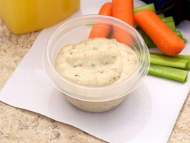 White Bean Dip recipe | dips | Pinterest