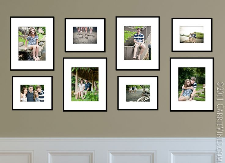 8x10 39 S 5x7 39 S Collage Wall Inspirations Pinterest