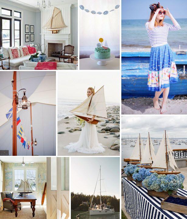Mood Board Monday: Sailboats (http://blog.hgtv.com/design/2014/07/07/mood-board-monday-sailboats/?soc=pinterest)