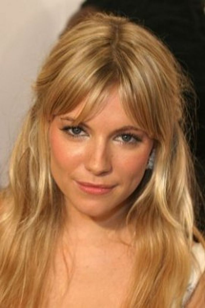 sienna miller hairstyles : Sienna Miller Long Pulled Back Hair Style Hairstyle Design 270x405 ...