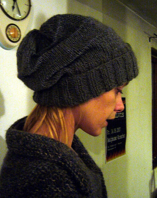 Slouchy Toque Knitting Pattern : slouchy toque pattern Knits Pinterest