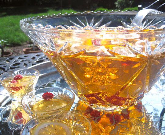 Basic Lemon Raspberry Rum Punch | Recipe