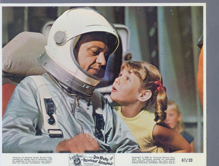 """Don Knotts is """"The Reluctant Astronaut"""" 1967"""