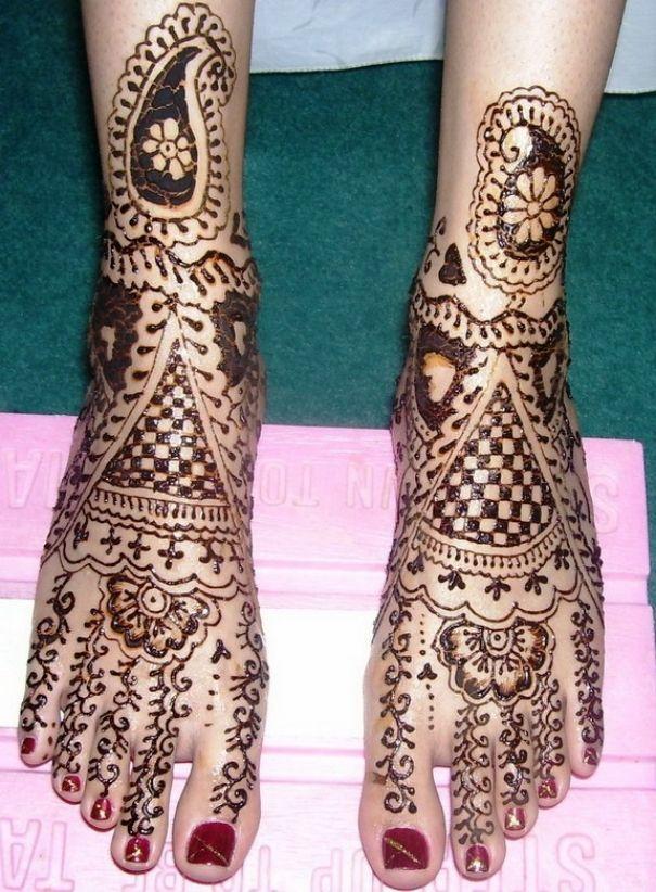 Mehndi Design With Leg : Best leg mehndi designs our top picks