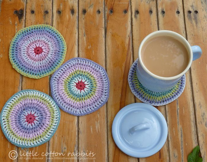 Crochet Mug Rug Patterns