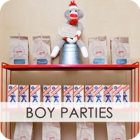Lots of party ideas!! girl parties, boy parties, baby showers, you name it, it's on this blog! :)