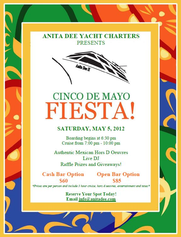 Cinco De Mayo Cruise in Chicago   Chicago Events and Attractions   Pi ...