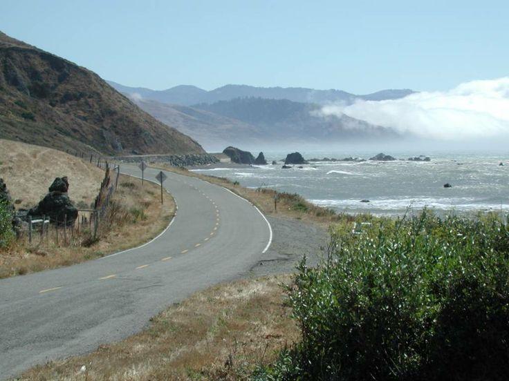 Lost Coast, CA. Camí de Petrolia, a tocar del cap Mendocino.