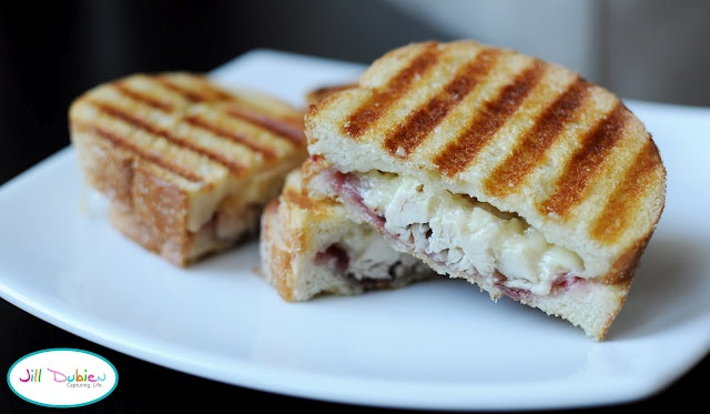thanksgiving leftover panini | nothing better than a grilled cheese ...