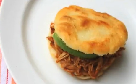 Venezuelan-style Arepas With Pulled Pork (Arepas Rumberas) Recipe ...