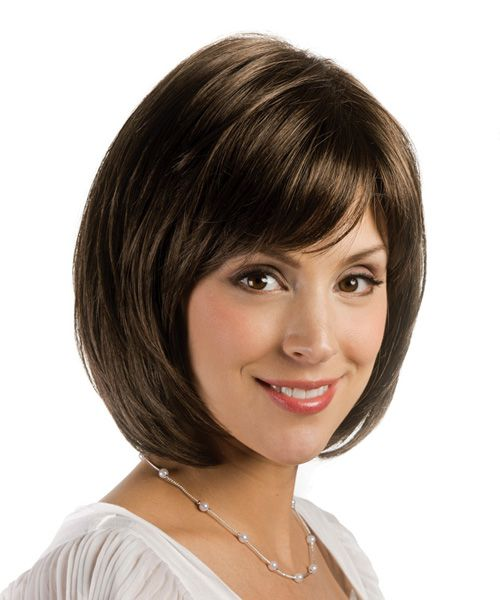 Sydney by Estetica is an A-line graduated layered bob with volume ...