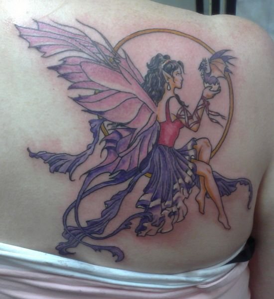 fairy tattoos free pictures to pin on pinterest tattooskid. Black Bedroom Furniture Sets. Home Design Ideas