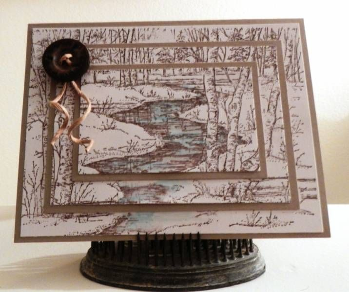 Scenic Birthday by Cara Denise - Cards and Paper Crafts at ...
