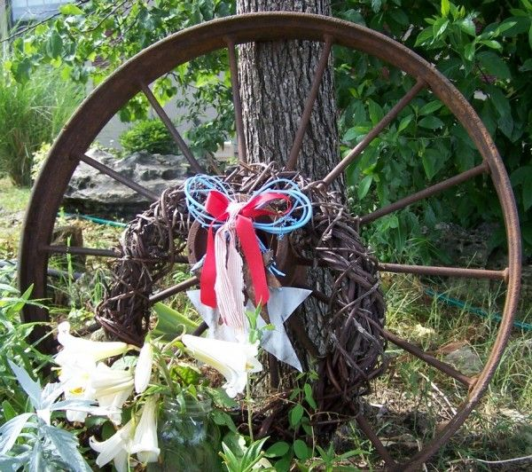 Rustic Outdoor Patriotic Decorations 4th Of July Pinterest