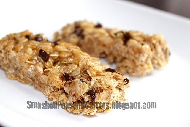 Gluten-free granola bars | Gluten-free food | Pinterest