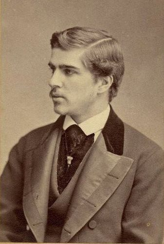 Portrait of Louis Comfort Tiffany, 1871. Image from the Mitchell-Tiffany Family Papers, Yale University Manuscripts & Archives Digital Images Database.