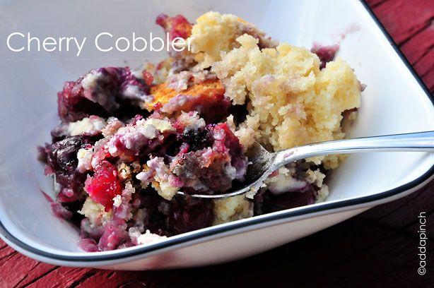 Cherry Cobbler I Recipe — Dishmaps