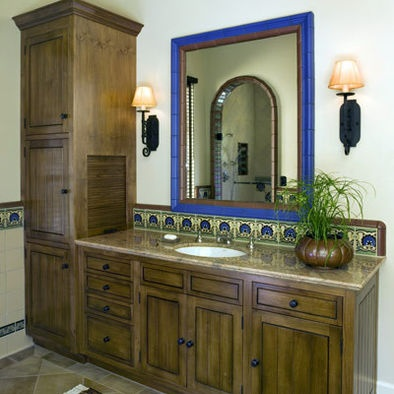 Appliance garage in bathroom bath ideas pinterest for Restroom appliances