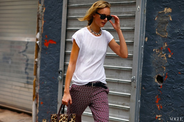 perfect relaxed outfit, the simple tshirt