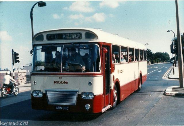 Colour Bus Photo Ribble 811 Ebay Ribble Motor Services Pinter