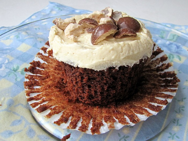 Triple Malt Chocolate Cupcakes | Cupcakes and Muffins | Pinterest