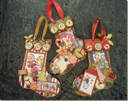 Vintage style christmas christmas crafts pinterest for Vintage christmas craft supplies