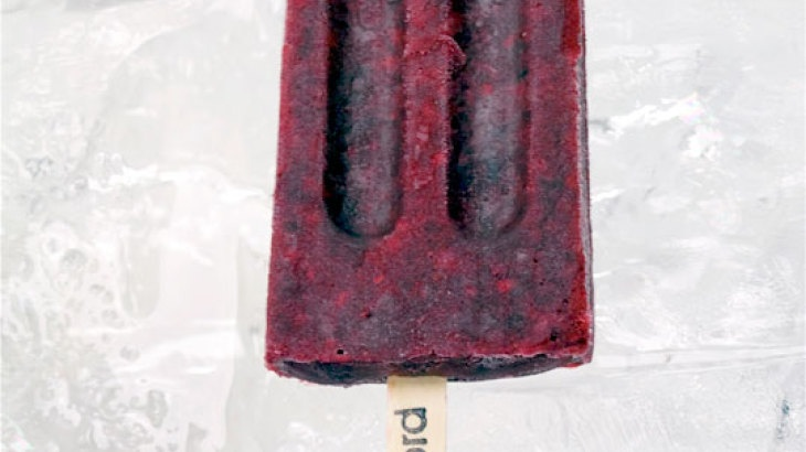 Pinot Noir Infused Blackberry Ice Pops Recipe
