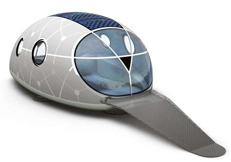 Futuristic Mobile Homes - The MercuryHouseOne is Portable Urban/Rural Living Space (GALLERY)