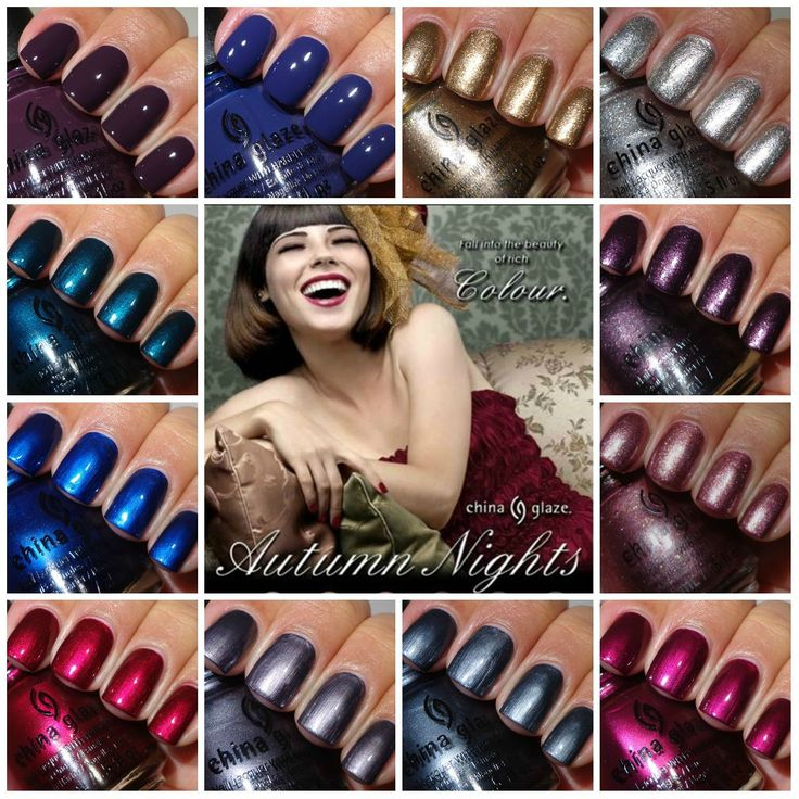 Autumn Night Collection by China Glaze | Bodicare Nails & Spa