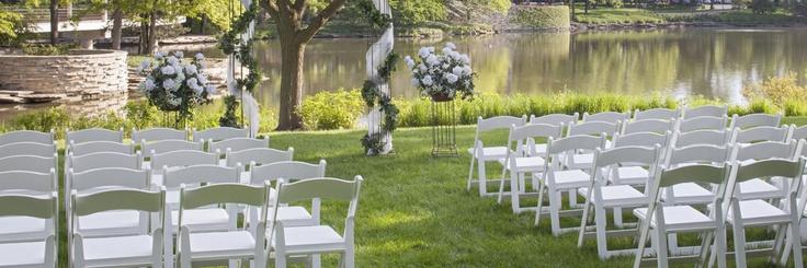 Pin by hyatt lodge at mcdonald s campus on wedding outdoor recepti
