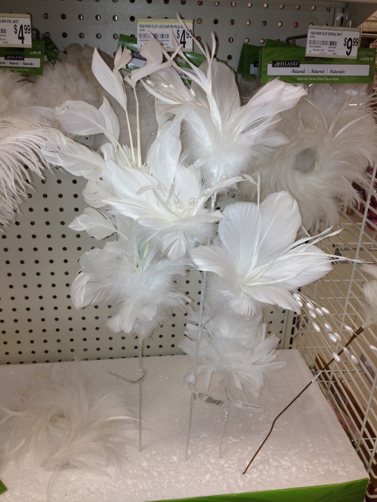 Feathers for centerpieces wedding ideas pinterest