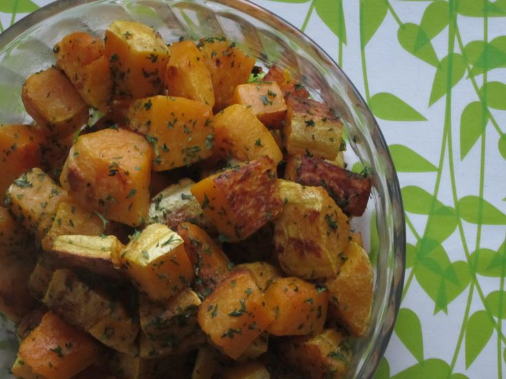 Roasted Garlic Butternut Squash- made this tonight and it was the best ...