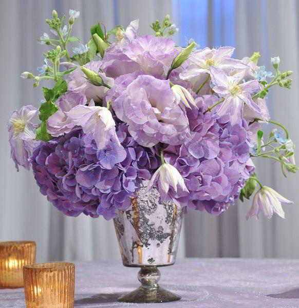 Lavender Flower Centerpieces : Purple floral arrangement ideas pinterest