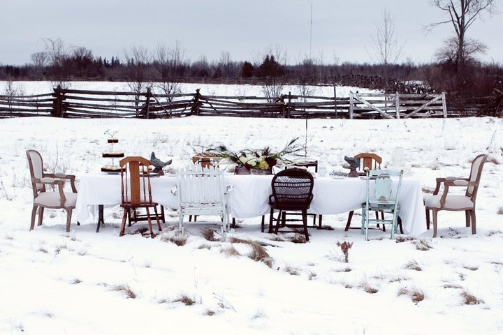 The winter table.