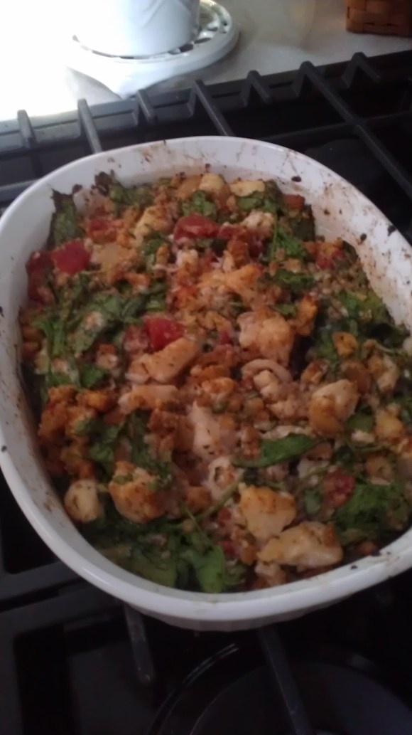 Freezer Meals for Matt: Bruschetta Chicken Bake