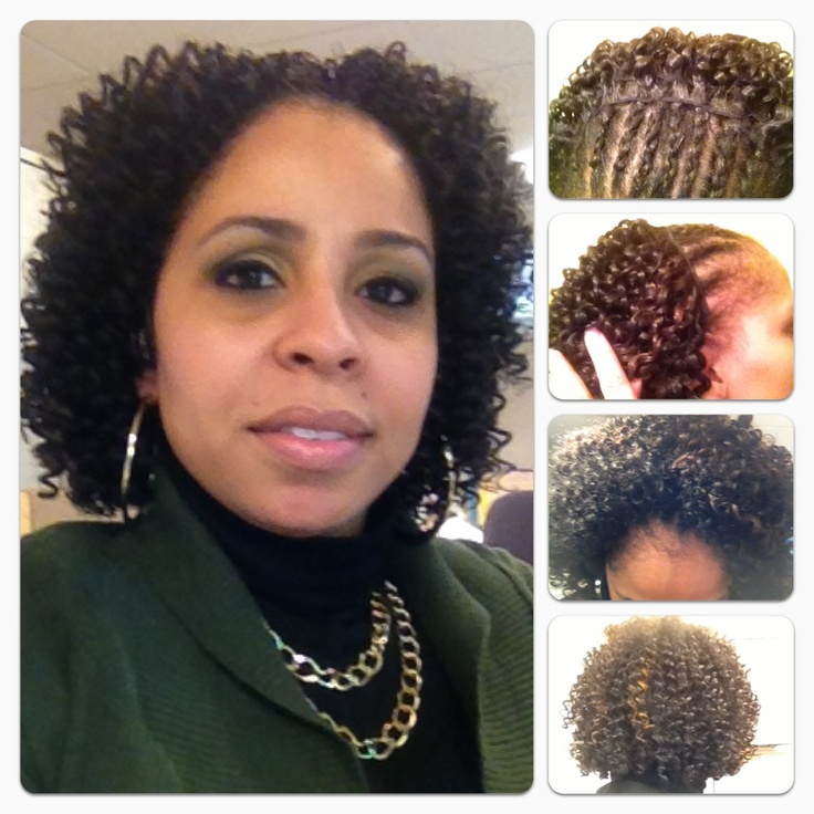Bohemian curl sew-in - natural hair protective style My Style ...