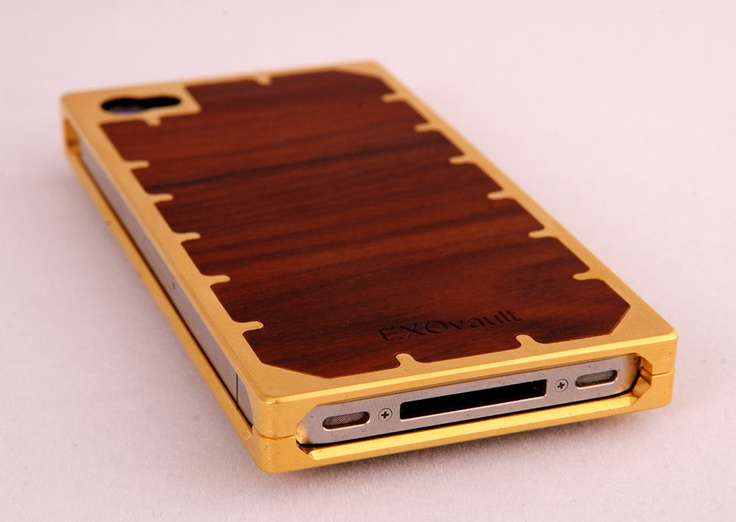 Case Design etsy phone cases : cool metal and wood phone case