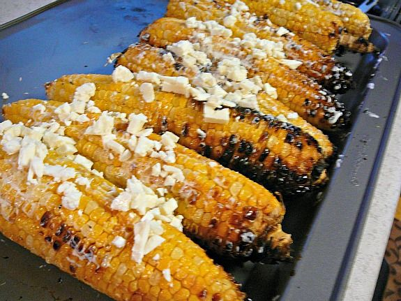 Mexican corn on the cob is one of my favorite foods, doesn't matter if ...