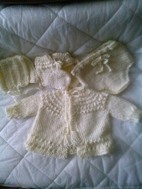 Quick baby sweater Knit and Crochet patterns I made ...